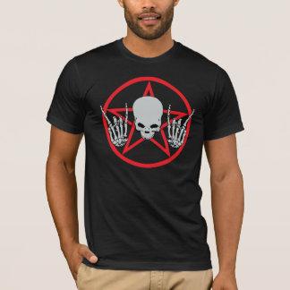 重金属の五芒星のワイシャツ Tシャツ