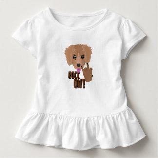 重金属の子犬の石 トドラーTシャツ