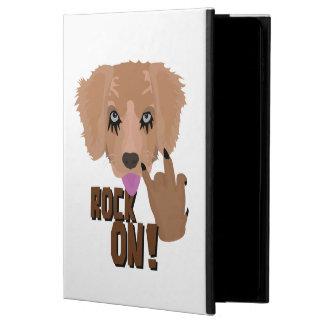 重金属の子犬の石 POWIS iPad AIR 2 ケース