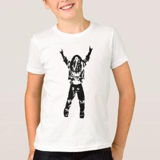 重金属の男-黒 Tシャツ