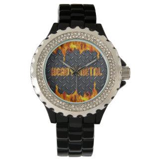 重金属の腕時計 腕時計