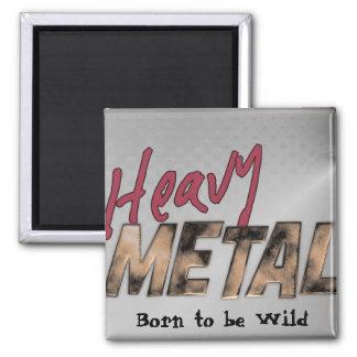 重金属の金属デザイン マグネット