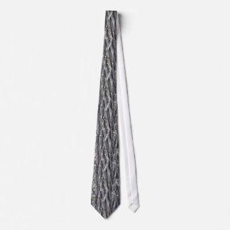 重金属ワイヤー繊維の銀のタイ ネクタイ