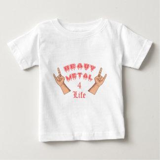 重金属4の生命 ベビーTシャツ
