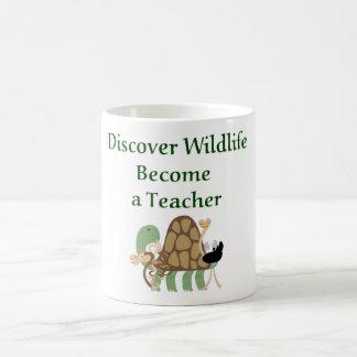 野性生物が先生に似合うことを発見して下さい。  先生のマグ コーヒーマグカップ