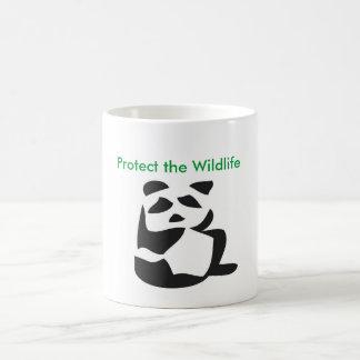 野性生物のマグを保護して下さい コーヒーマグカップ