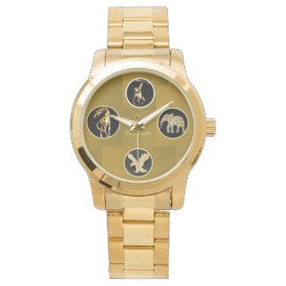 野性生物を支えて下さい! 腕時計