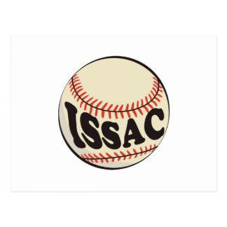 野球およびIssac ポストカード