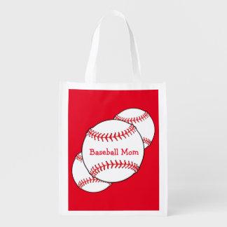 野球のお母さんのエコバッグ エコバッグ