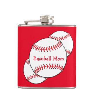 野球のお母さんのフラスコ フラスク