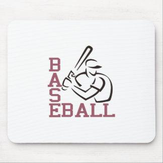 野球のねり粉 マウスパッド