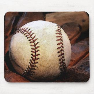 野球のアートワーク マウスパッド