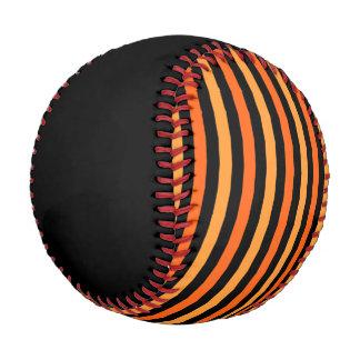 野球のオレンジトラのストライプ 野球ボール