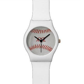 野球のカスタムの腕時計 腕時計
