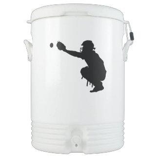 野球のキャッチャー ドリンククーラー