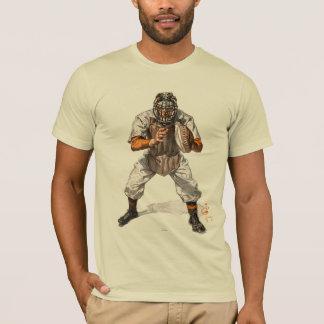 野球のキャッチャー Tシャツ