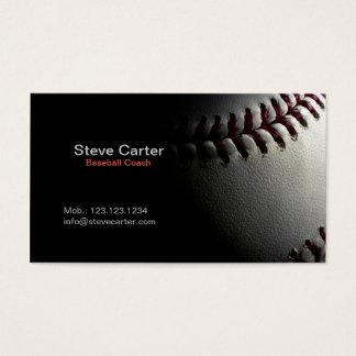 野球のコーチまたはプレーヤーのフィットネスのトレーディングカード 名刺