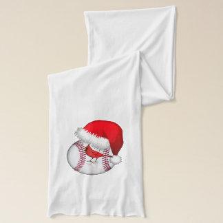 野球のサンタのかわいい帽子 スカーフ