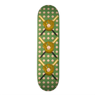 野球のスケートボードのデッキ 21.6CM オールドスクールスケートボードデッキ
