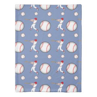 野球のスポーツの双生児のサイズの羽毛布団カバー 掛け布団カバー