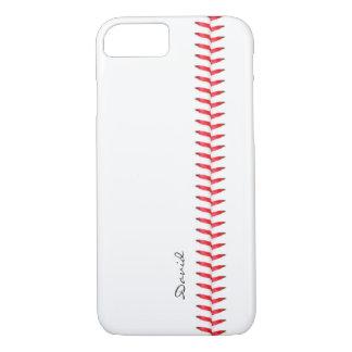 野球のスポーツチームコーチの名前をカスタムする iPhone 8/7ケース