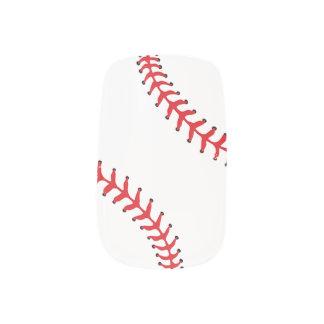 野球のソフトボールのデザインのネイル ネイルアート