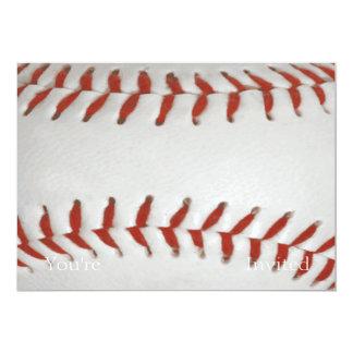 野球のソフトボールのプリントパターン背景 カード