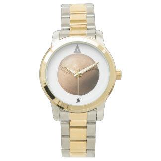 野球のツートーン腕時計 腕時計