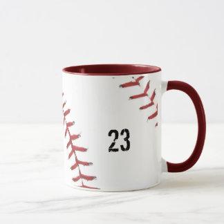野球のテーマのマグ マグカップ