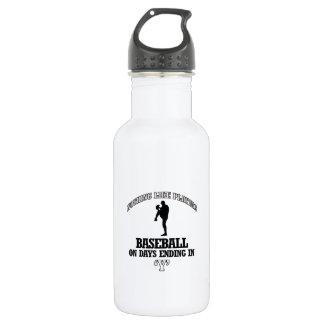 野球のデザイン ウォーターボトル