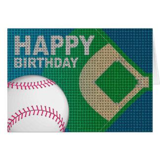 野球のハッピーバースデーカード カード