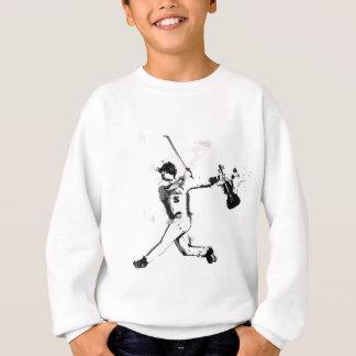 野球のバイオリン奏者 スウェットシャツ