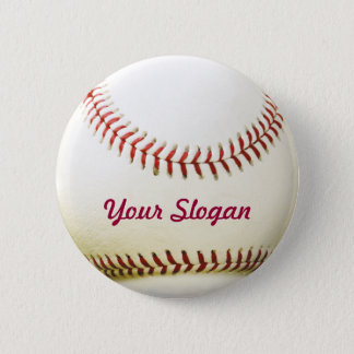 野球のバッジPinボタン 5.7cm 丸型バッジ