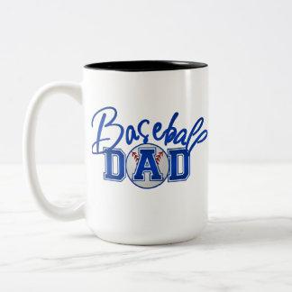 野球のパパのマグ ツートーンマグカップ