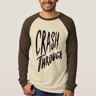 野球のワイシャツを通した衝突 Tシャツ