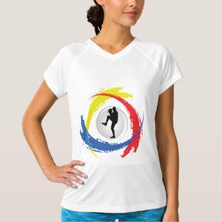 野球の三色の紋章 Tシャツ