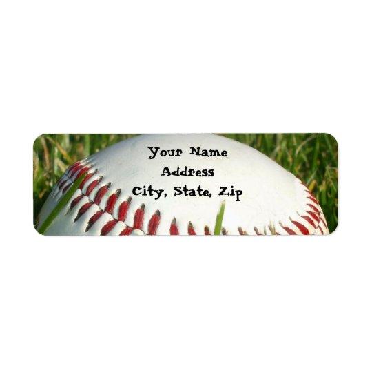 野球の住所シール ラベル