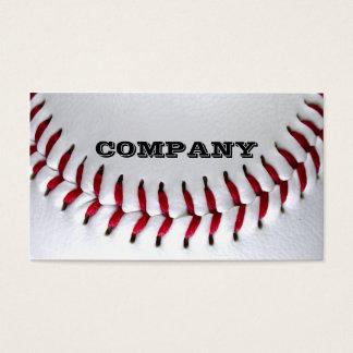 野球の写真の名刺 名刺