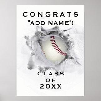 野球の卒業 ポスター