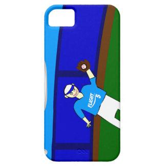 野球の捕獲物の頭が切れるな電話箱 iPhone SE/5/5s ケース