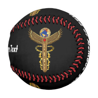 野球の普遍的な医学のロゴ2 野球ボール