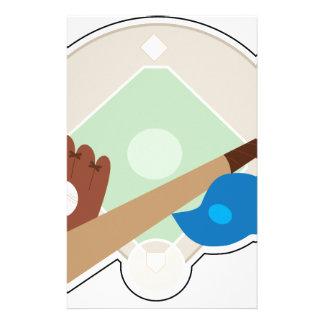 野球の物 便箋