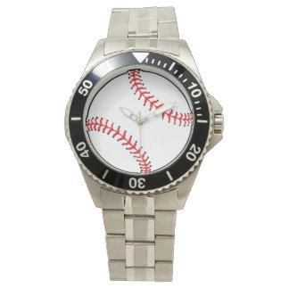 野球の球の腕時計 腕時計