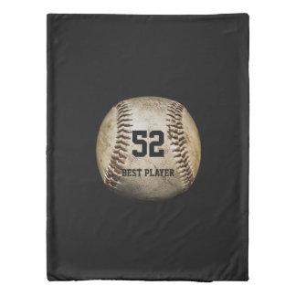 野球の球|のクールなスポーツのギフト 掛け布団カバー