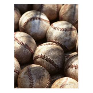 野球の球 はがき
