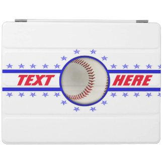 野球の花形選手のアスリート iPadスマートカバー