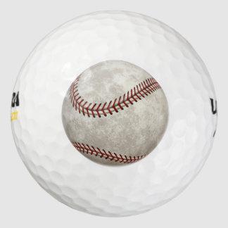 野球の試合のアメリカのを過ぎ時間のスポーツ ゴルフボール