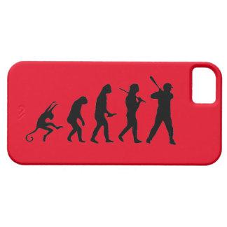 野球の進化-おもしろいなiPhone 5の場合 iPhone SE/5/5s ケース