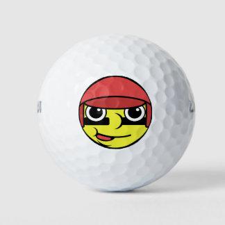 野球の顔 ゴルフボール