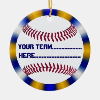 野球の魅力および記念品のアメリカ人の精神 セラミックオーナメント